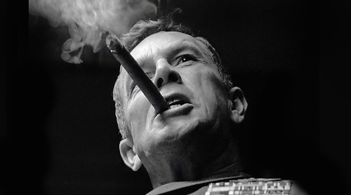 "General Jack Ripper - Sterling Hayden in ""Dr. Strangelove"""