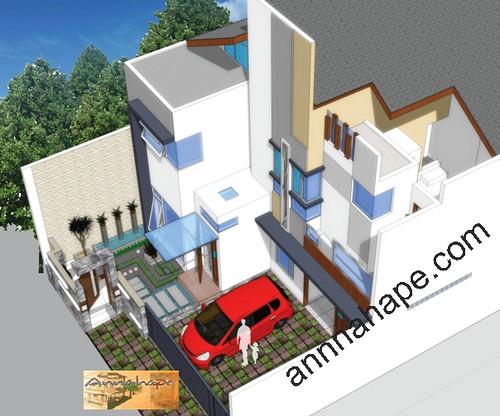 desain rumah modern rumah idaman, sketsa rumah tinggal mewah, gambar ...