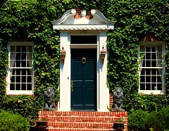 Front Door in Atlanta´s Druid Hills Historic District