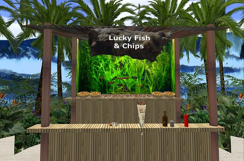 Surf's Up at Lucky Fish & Chips