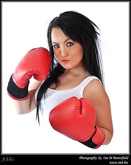 Sexy young female boxer. (Ian M Butterfield) Tags: woman white black game sexy sports girl sport lady female cutout hair person one 1 glamour women adult young competition games whitebackground gloves boxer recreation boxing adults bodypart youngwoman challenge challenges boxingglove caucasian singular competitions boxinggloves femail modelrelease pugilism lateteens lightskin whiteperson photoimb fb0814be04478 fb0814b e04478