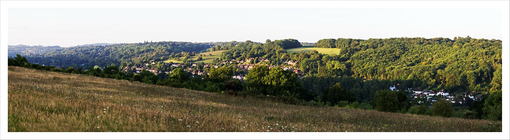 Kenely from Riddlesdown Panorama 3a