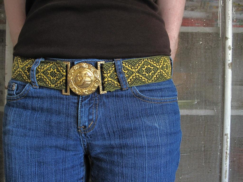 Vintage Trim Belt #3