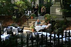 Dining Out (Read2me) Tags: city cemetery graveyard boston restaurant cafe gamewinner challengeyouwinner achallengeforyouwinner thechallengefactory yourock1stplace superherochallengewinner pregamewinner