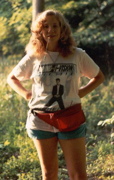Alyce in Field, 1990