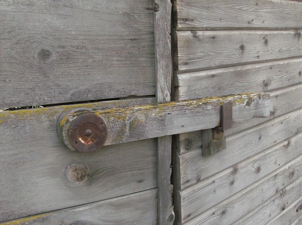 Uniontown Farmhouse, Barn Door Latch