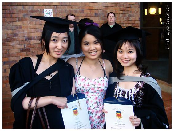 USQ Graduation Ceremony 2009: My Friends