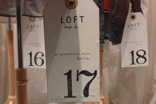 Vitrines 20 ans Loft Design by aux Galeries Lafayette- septembre 2009