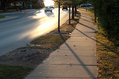 Shadow Gallery () Tags: road usa fall 50mm nikon indiana d100 bloomington iu