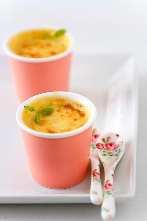 Lemon Chamomille Pots de Creme