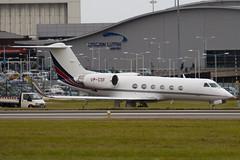 VP-CSF - Private - Gulfstream Aerospace G-IV Gulfstream IV-SP (G4) - Luton - 090917 - Steven Gray - IMG_7299