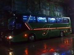 Remake: Orange LED Lights =) (Api II =)) Tags: blue orange 3 bus lights nissan diesel maria interior led trans kinglong farinas xmq6129y md9m