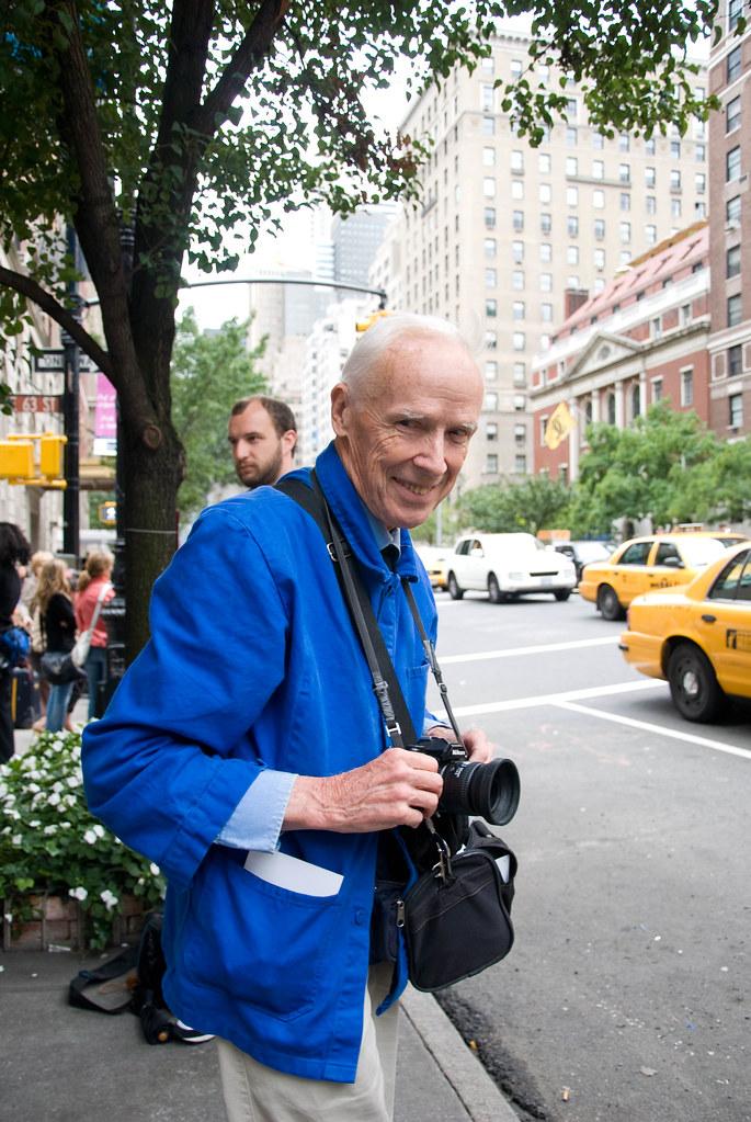 Bill Cunningham, Oscar de la Renta Show
