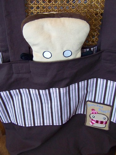 Mr. Toast in Toasty Tote