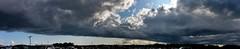 County Fair Storm Clouds Panorama 2