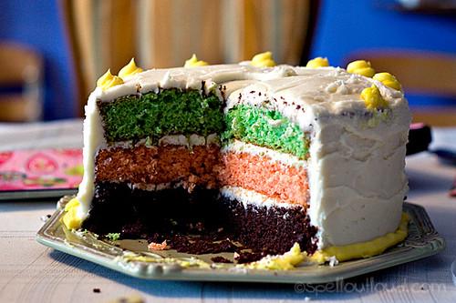 Wordless book Cake