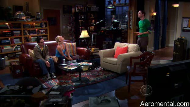 The Big Bang Theory S03E03 Penny chocolate lanzamiento