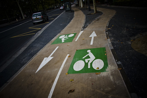 Paris Bike Lanes