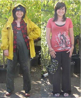 Proper planting attire