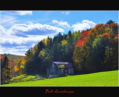 autumn barn and foliage (pinecreekartist) Tags: friends chiaramonte wellsboropa platinumheartaward pinecreekartist tiogacountypachiaramonte