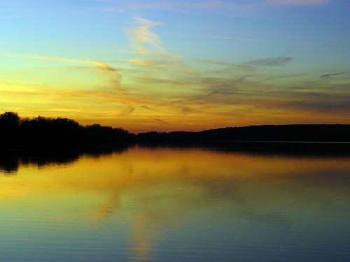 Saganashkee Slough sunset, Palos Hills IL (6)
