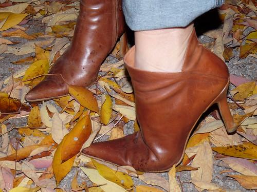knit shoe