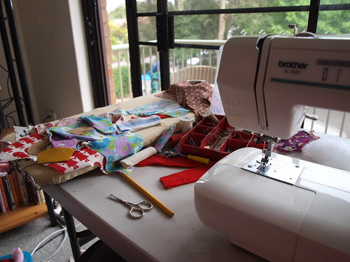 sewing... sewing...