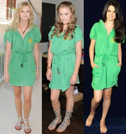 vestido verde ano novo