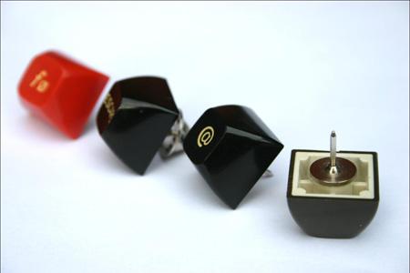 Keyboard Lapel Pins