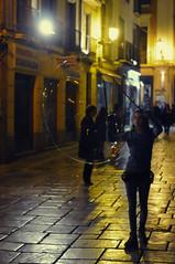 Bubble (Mait Jriado) Tags: night spain chica erasmus catedral granada bubble cerca hispaania espaa