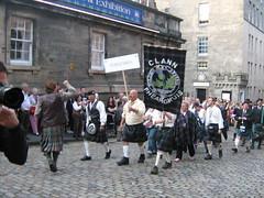 Clan Gathering Procession Clann Fhearghuis / Ferguson / Fergusson