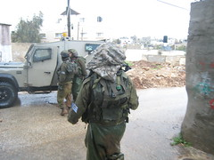 Soldiers invade Jayyus (Stop the Wall Campaign) Tags: palestine westbank military invasion arrest incursion occupation israelisoldiers jayyous jayyus