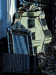 Fractured Fifth Avenue (Trish Mayo) Tags: reflections mirrors 5thavenue fifthavenue bergdorfs