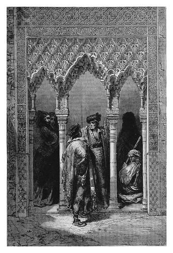 049-Puerta de la Sala de Justicia Alhambra de Grananda-Spain (1881)- Doré Gustave