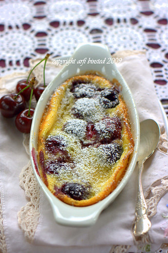 Cherry Clafoutis by arfi binsted 2009