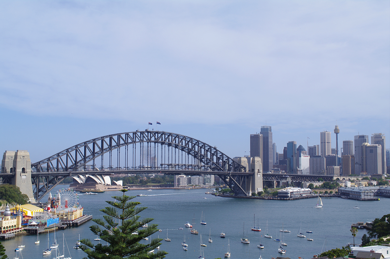 View of Sydney Harbour Bridge