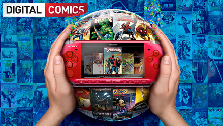 PSP Digital Comics