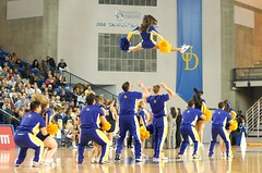 Air Time (Keith Lovett Photography) Tags: ca blue basketball dance university cheerleaders navy vs delaware squad fighting ncaa hens womans midshipmen 121109 wigstruck ncaawomansbasketball