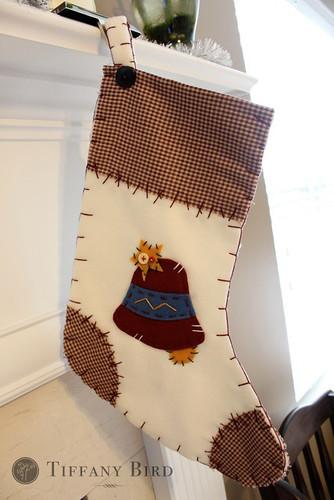 Simply Modern Mom 187 Blanket Stitch Christmas Stockings