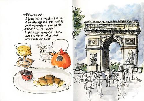 Paris03_02 Arc de Triumphe