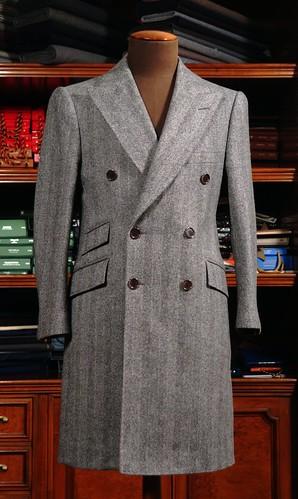 Cifonelli 6x2 DB overcoat