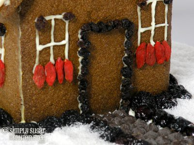 Gingerbread House Front Door