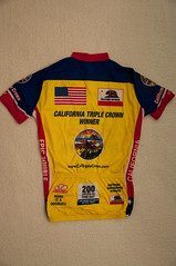 California Triple Crown Jersey(back)