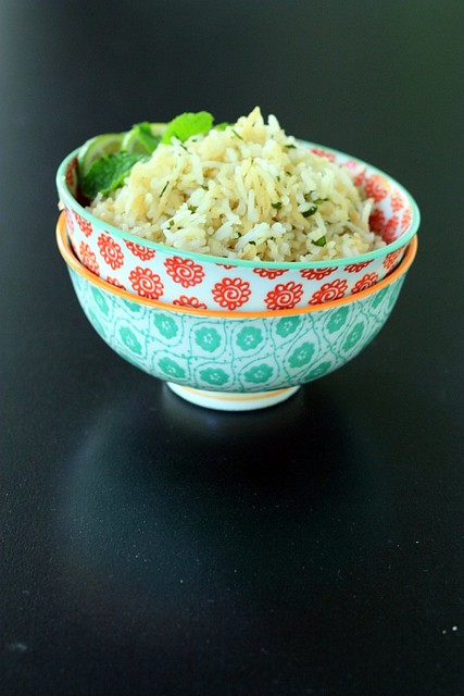 Lemon Cilantro Rice