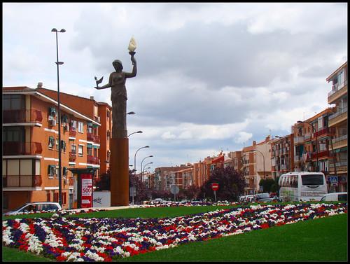 Rotonda Calle Ferrocarril