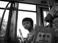 the curious one (jobarracuda) Tags: china bus lumix kid child chinese curious fz50 dongguan jobarracuda jojopensica pensica