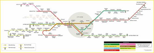 Image Gallery Metrolink Map 2016