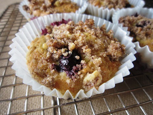 Blueberry muffins, take one