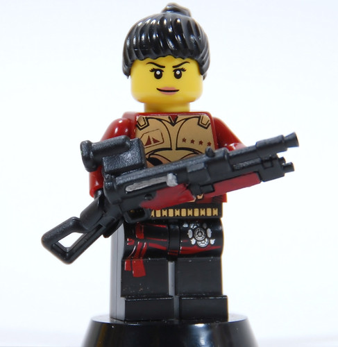 Custom minifig ES-103T Projected Energy DMR, Tactical