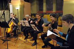 Morricone Mix eindpresentaties (fotoVRIJDAG) Tags: vrijdag groningen muziekmaand morricone enniomorricone synagoge concert klassiek viool zang tuba trompet classic barok barokmuziek